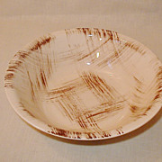 Vernonware Metlox Barkwood Pattern 2 - Serving Vegetable Bowls  USA