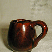 Miniature RedWare Mug Pitcher