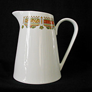 Syracuse Seville Pattern Pitcher Made in USA Carefree XL Casual China