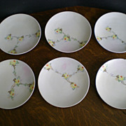 Jaeger & Co. Hand Painted Porcelain Plates