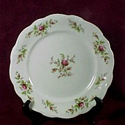 "SALE Johann Haviland ""Moss Rose"" Dinner Plate (12 available)"