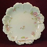 SALE Haviland Limoges Serving Bowl with Wild Roses, 5 Star Blank