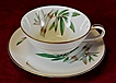 Noritake Bamboo #5565 Cup and Saucer (3 available)