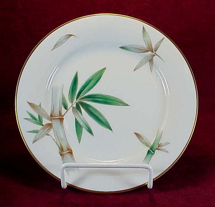 Noritake #5565 Bamboo Salad or Dessert Plate (4 available)