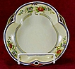 Noritake 3-Lobed Hand-Painted Serving Bowl - Early 1900s