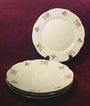 Princess House &quot;Rose Garden&quot; Luncheon/Salad Plates (4/set) 2 sets available