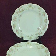 SALE Johnson Bros., England, Green Crown Mark, Luncheon Plates (2)
