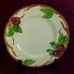 "Franciscan ""Apple"" 9 1/2"" Luncheon Plate, 1949-53 Mark"