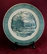 Royal China Currier & Ives Chop Plate - Lovely