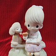 "SALE Enesco Precious Moments' ""Loving is Sharing"" - 1979, E-3110G"