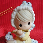 Enesco, Precious Moments, 12 Days of Christmas Ornament #11