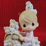 Enesco, Precious Moments, 12 Days of Christmas Ornament #12