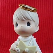 "Enesco Precious Moments ""Follow Me"" Angel, Nativity"