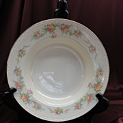 "Homer Laughlin Eggshell Georgian HLC #G3432 ""Countess"" Soup Bowls (8 available)"