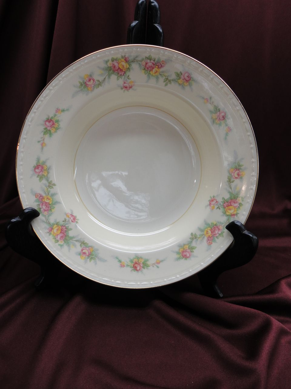 Homer Laughlin Eggshell Georgian HLC #G3432 &quot;Countess&quot; Soup Bowls (8 available)