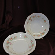 Homer Laughlin Eggshell Georgian HLC #G3432 Countess Berry/Sauce Bowls (3 sets of 2 available)