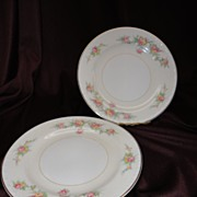 "Homer Laughlin Eggshell Georgian #HLC G3432 ""Countess"" Bread/Butter Plate (7 sets of"