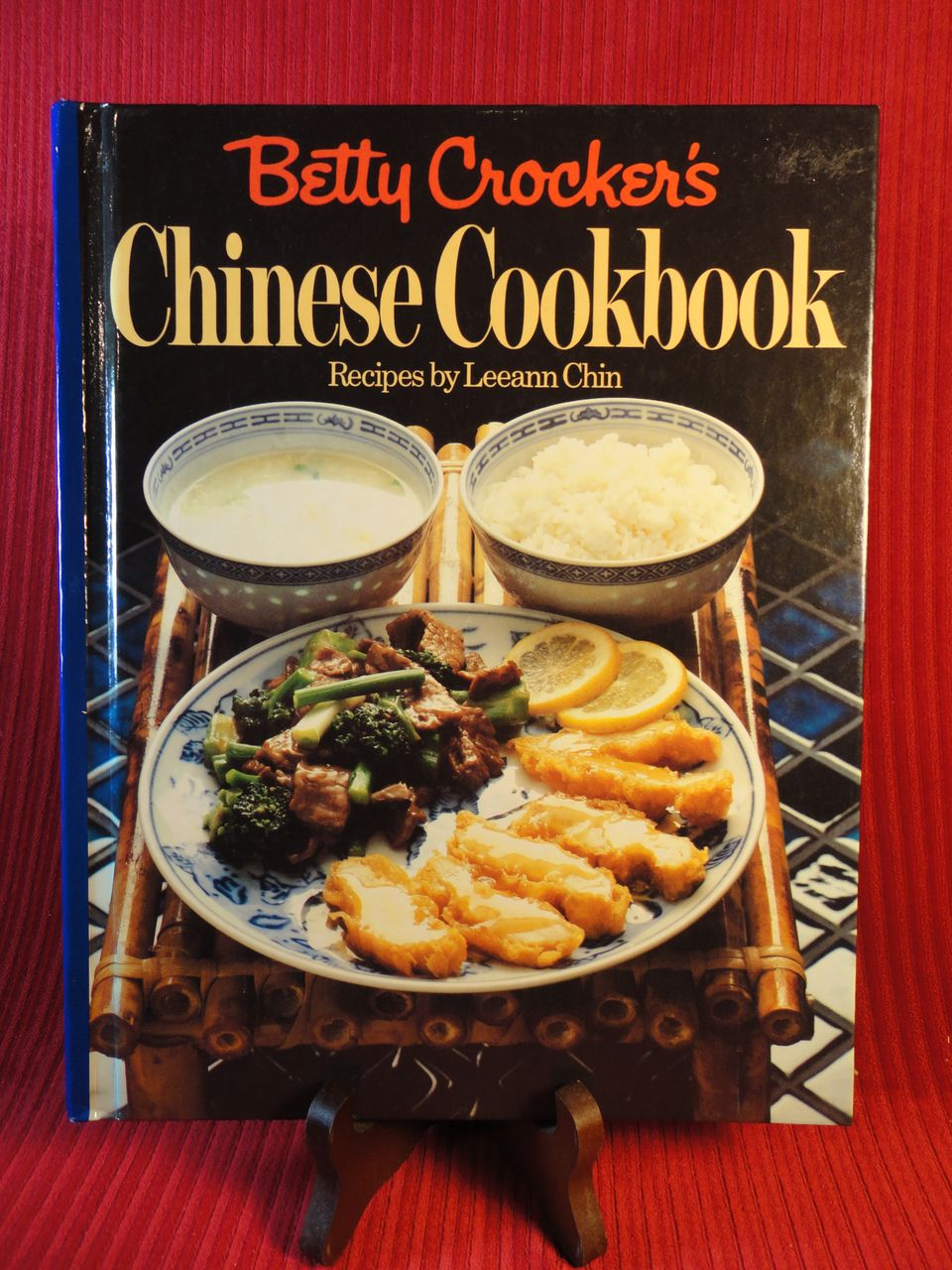 &quot;Betty Crocker's Chinese Cookbook&quot; by Leeann Chin, 1981, 1st Ed.