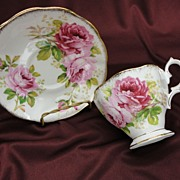 Royal Albert American Beauty Rose Cup and Saucer Set (3 available)