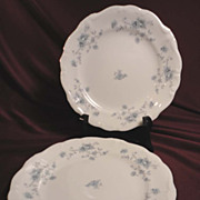 Johann Haviland &quot;Blue Garland&quot; Bread/Butter Plates (8 sets of 2 available)