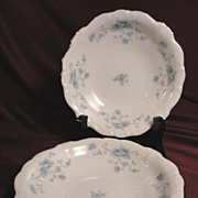 Johann Haviland &quot;Blue Garland&quot; Berry or Sauce Bowls (8 sets of 2 available)