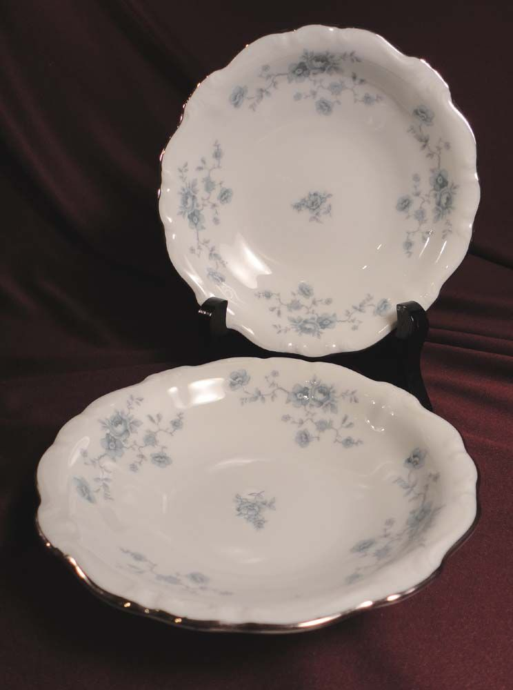 "Johann Haviland ""Blue Garland"" Berry or Sauce Bowls (8 sets of 2 available)"