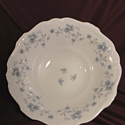 Johann Haviland &quot;Blue Garland &quot;8&quot; Round Veggie Bowl