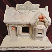 SALE Enesco's Sugar Town Train Station and Box