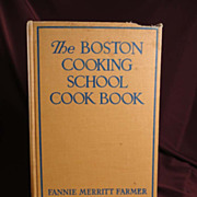 The Boston Cooking School Cook Book by Fannie Merritt Farmer, 7th Edition, 1943