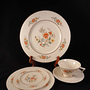 "Lenox ""Temple Blossom"" 5-Piece Place Setting"