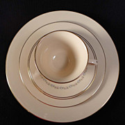 "Lenox China ""Christie"" 5-Piece Place Setting"