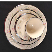 "Lenox Chine ""Flirtation"" 5-Piece Place Setting"