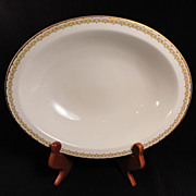 "Haviland-Limoges ""Albany"" Oval Serving Bowl"