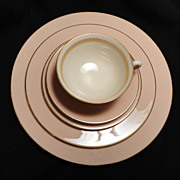 "Lenox's ""Caribbee"" Dinnerware - 5-Piece Placesetting"