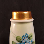 Forget-Me-Not, Hand-Painted Talc Shaker