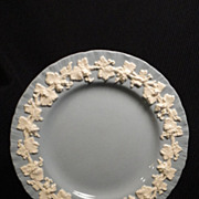 Wedgwood Queen's Ware Embossed Cream on Lavender w/Shell Edge Bread/Butter Plate (8 available)