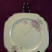 "SALE Homer Laughlin's Briar Rose 6 1/4"" Sandwich or Dessert Plate, 1930s (3 available)"