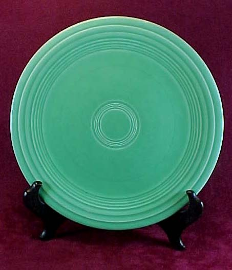 "Homer Laughlin Fiesta Original Green Glaze 9 1/2"" Dinner Plate (3 available)"