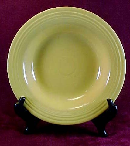 Homer Laughlin Fiesta Yellow Deep Plate/Soup Bowl