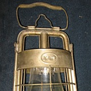 Dietz Fire Lantern - Nickel Plate Over Brass