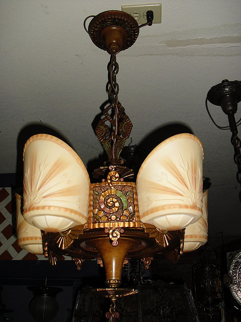Art Deco Chandelier For A Stylish And Creative Interiors Light Decorating I