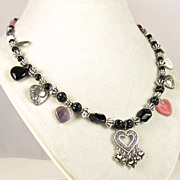 A Profusion of Hearts Necklace