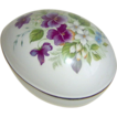 Egg Shaped Trinket Box by Sadler England