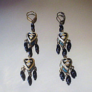 Meena Minikara and Black Onyx Earrings