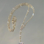 Swarovski Crystal and 14kt Gold Fill Sparkle Necklace