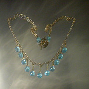 Apatite 14kt Gold Fill Necklace