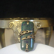 SOLD Lapis Chrysocolla Ring