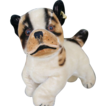 "Larger 7"" Steiff ""Bully"" Bulldog with Ear Button"