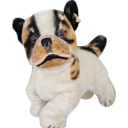 "REDUCED Larger 7"" Steiff ""Bully"" Bulldog with Ear Button"