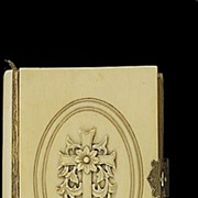 SOLD 1873 Carved Ivory French Paroissien Romain Catholic Missal Prayer Book